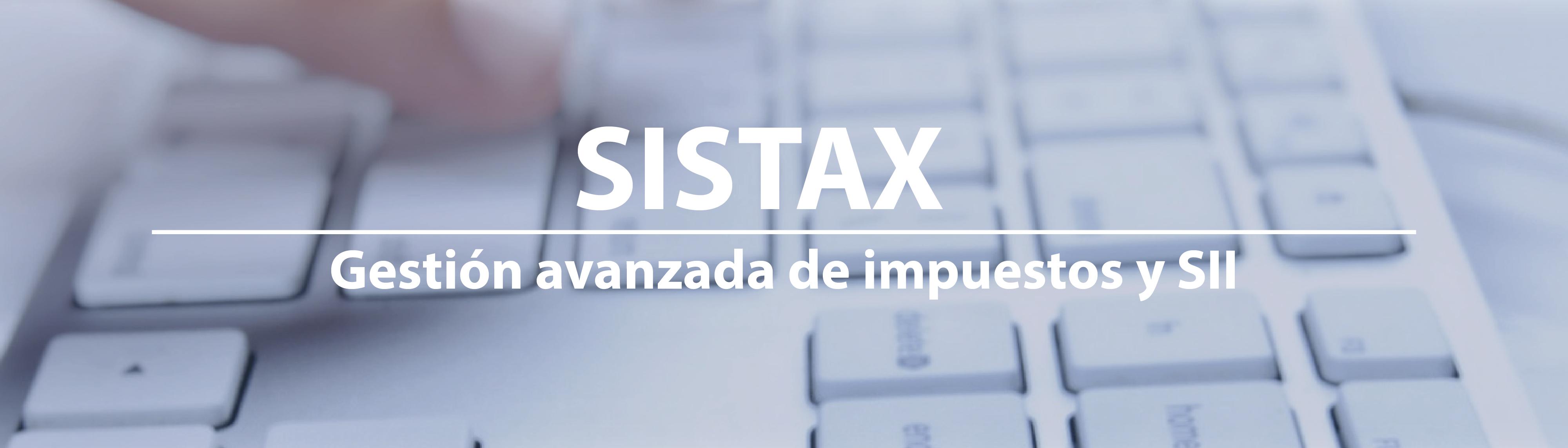 Gestion de impuestos SISTAX